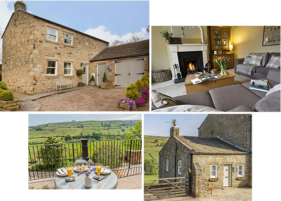 Cottages in Swaledale and Reeth